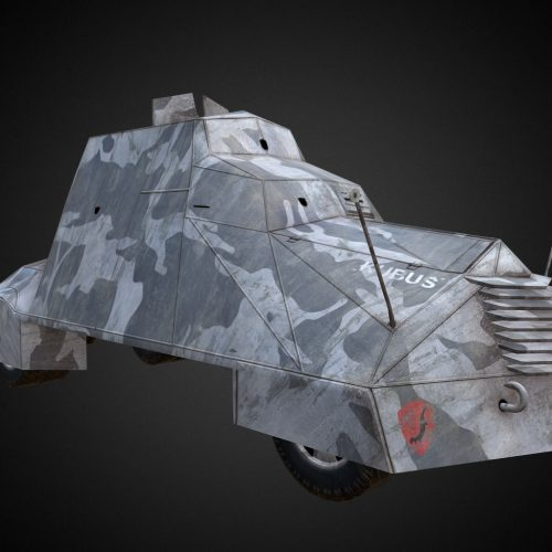 """Kubuś"" armoured vehicle"